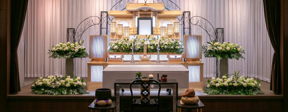 祭壇の写真